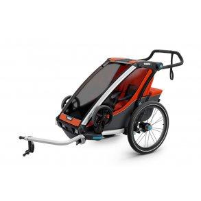 Cykelanhænger/løbevogn 1 barn