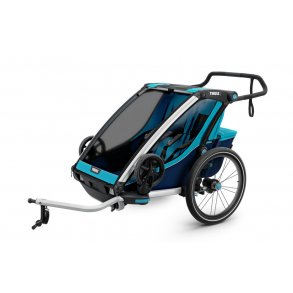 Cykelanhænger/løbevogn 1-2 børn