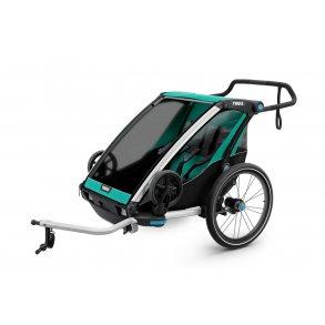 Lite 2 Thule Chariot (1-2 børn)