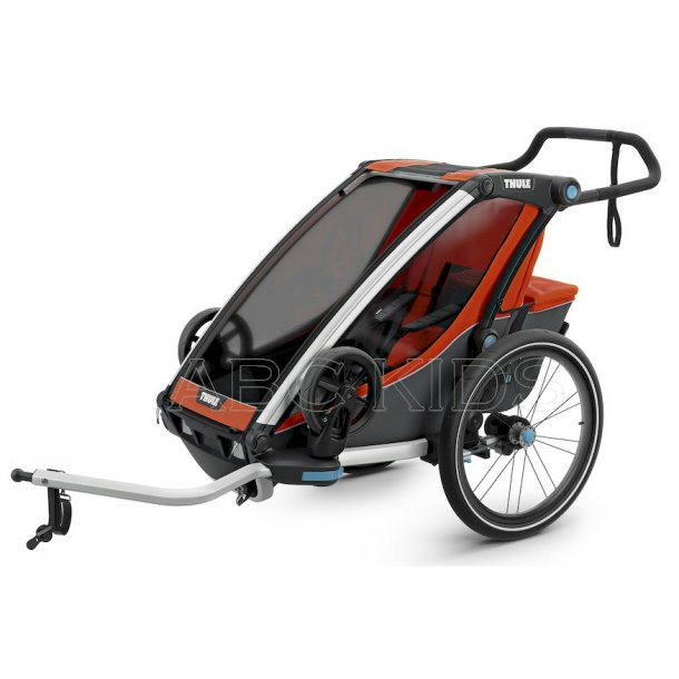 Cross Thule Chariot bike. ABC KIDS er dansk med eget lager & butik. Få sendt til din adresse