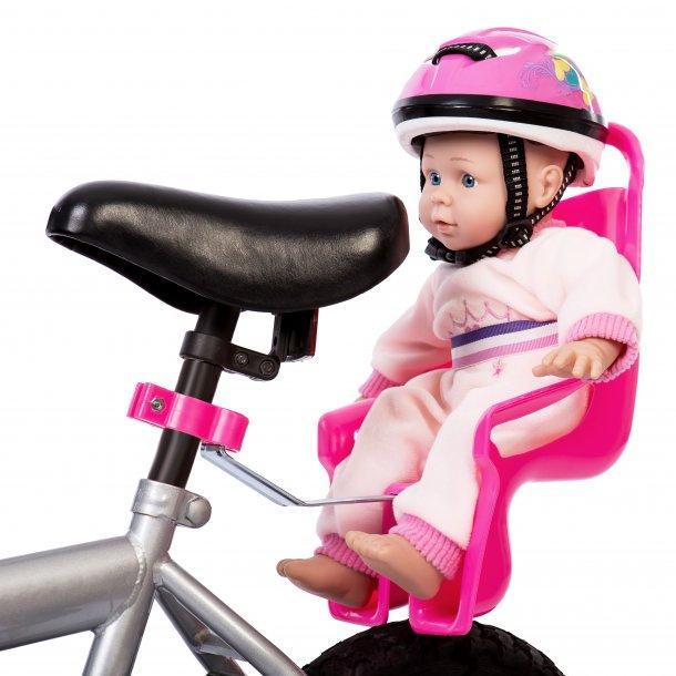Cykelstol til dukke eller bamse