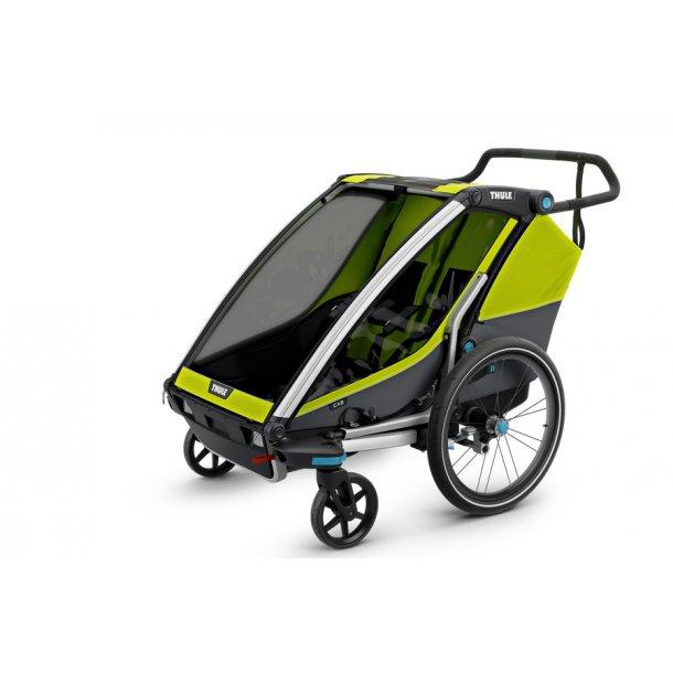 Thule Chariot Cab 2 cykelanhænger & gåvogn. Se den i vores butik / gratis levering