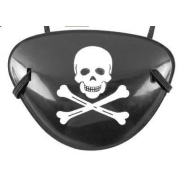 Pirat klap for øjet. Piratklap udklædning, Fastelavn & Halloween